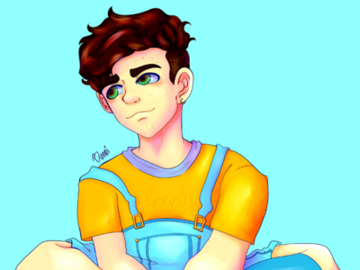 Eef yellowaesthetic artwork art anime animeart yellow soft softboy softboi crankgameplays