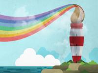 Designer's Mind - Rainbow House