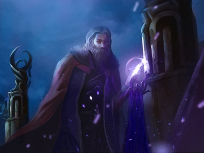 Rune master fantasy art digital art illustration fantasyart digital panting characterdesign character