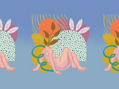 Figure Collage collage figure drawing figure illustration art illustration