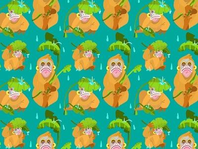 Orangutan pattern
