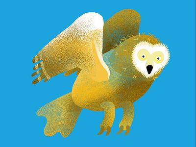 Owl Illustration for The Dodo