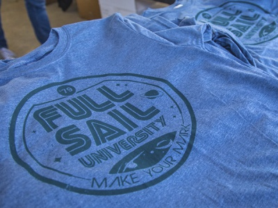 Live screen printing design full sail