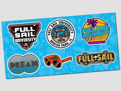 Full Sail University decals