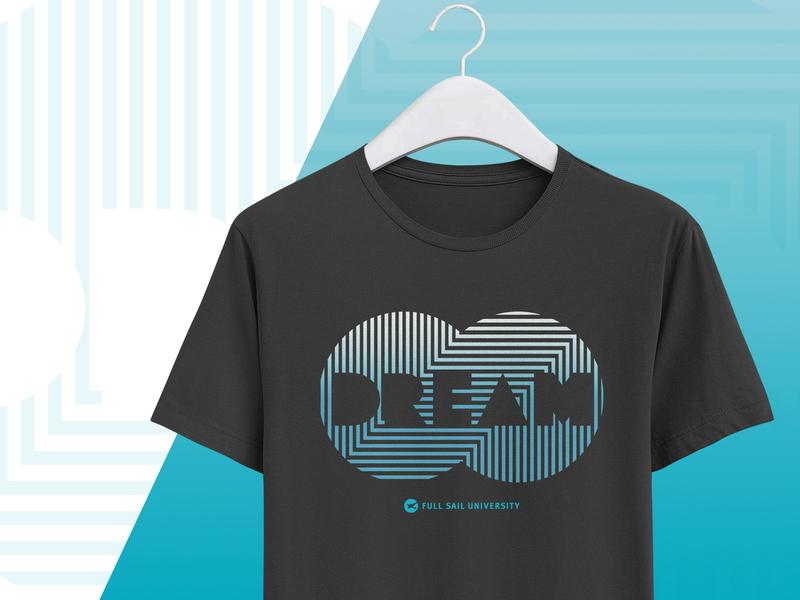 Infinity DREAM screen print shirt full sail dream