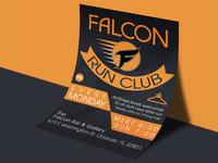 Falcon Run Club Flyer