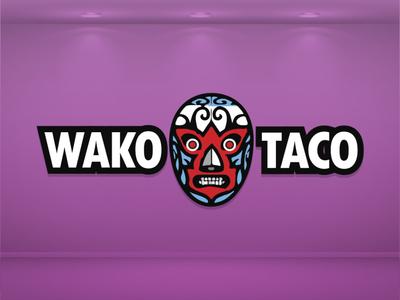 Wako Taco Interior signage