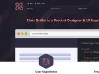 Working on portfolio redesign