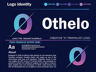 Othelo Minimalist logo minimalist unique unique logo font loog o letter logo o ocean color orange o logo modern logo minimal creative logo branding company business logo apps logo business brand