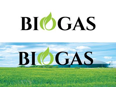 Typography logo fire leaves biogas green text logo modern logos creative logos logo identity logodesign wordmark logo typography logo modern logo creative logo company business logo business apps branding brand logo