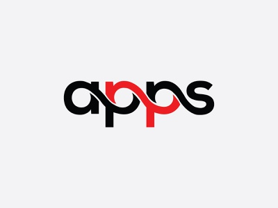 Apps Typography, Wordmark, Minimalist Logo Design. minimalist lettermark app design type minimal logo brand identity logodesign typeface wordmark typography minimalist logo minimal creative logo apps business logo company business branding brand logo