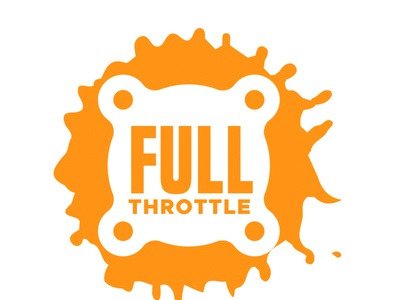 Ful Throttle Machine Works Inc. logo 2 logo design branding