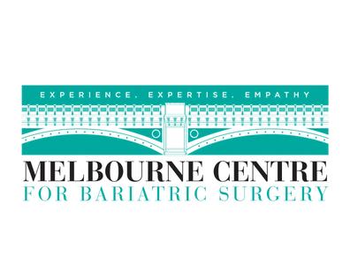 Melbourne Centre For Bariatric Surgery logo 3 illustration logo design branding
