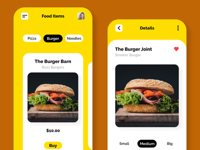 food app ui design ios icon ios app android app development android app design android android design android app ios app design application app design app web design website design landing page design landing page landingpage landing design adobe xd adobexd