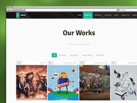 Asobar WordPress
