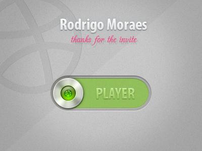 Thanks for the invite Rodrigo Moraes debut thanks thankyou invite draft player
