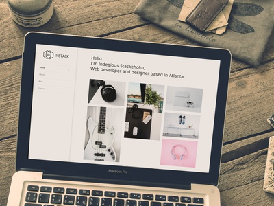 inStack Multipurpose WordPress Theme responsive portfolio personal business wordpress
