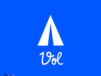 Vol Screen 1 design app travel figma design vol