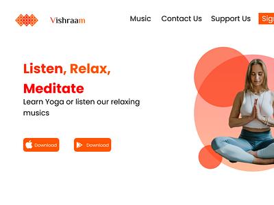 Vishraam yoga design figma