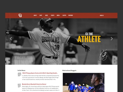 CJ Beatty Homepage