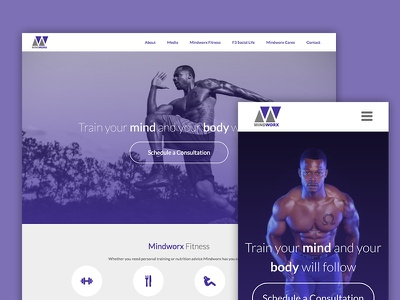 Mindworx Fitness clean personal trainer trainer fitness sports