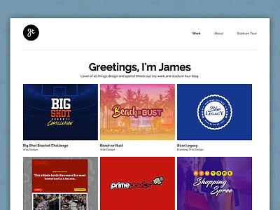 jthowardesigns Website web portfolio ui clean