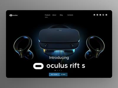 EarBuds Landing Page minimal website branding typography ui ux design