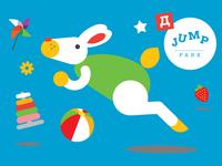Jump Park brand identity
