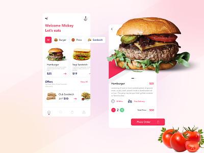 Food ordering App website uxdesign uidesign uiux online shop new app design online order branding design app ui modern