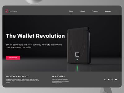 Digital Wallet Ui Design typography online minimalist order ui branding design modern