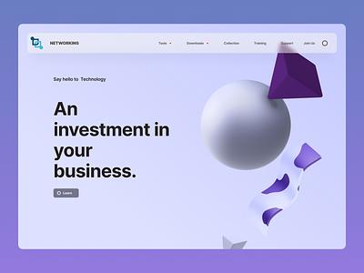 Consultant web design online shop minimalist typography order online new ui branding modern design