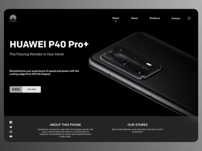 Huawei Products online new designs branding web ui ux minimal design