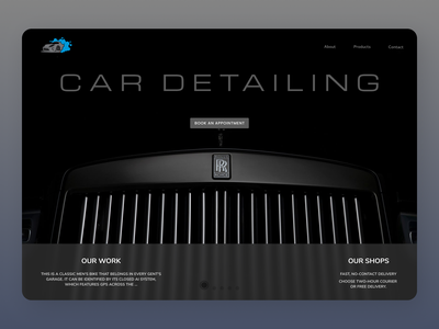 Cars Web Design online new designs branding web design minimal ui ux