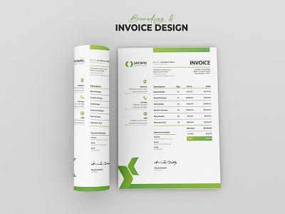 Invoice Template Design magazine advertising branding minimal new unique creative
