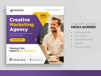 Digital marketing corporate social media live webinar corporate social media post digital marketing digital marketing social media marketing digital branding creative corporate