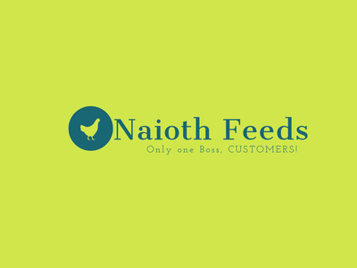 Naioth Feeds Logo design logo