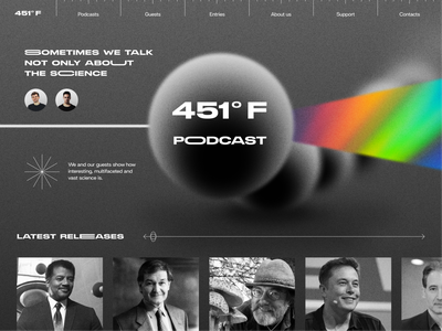 451F Podcast uxdesign uidesign flow top design dribble layout web design trendy trend top webdesign clean website web touchflow minimal design ux ui