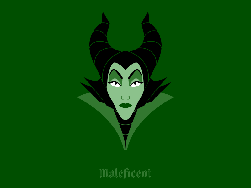 Maleficent By Travis Cooper On Dribbble