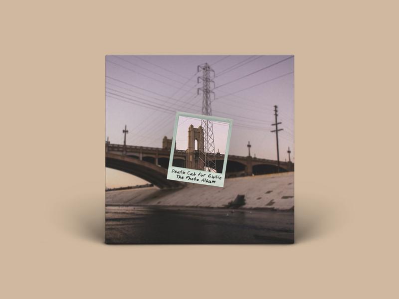 THE PHOTO ALBUM album art music record vinyl photo bridge socal losangeles polaroid the photo album death cab for cutie