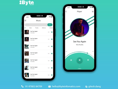 Music Screens design illustration vector ux branding app ui