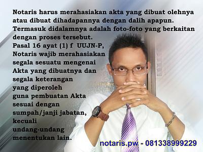 Kode Etik Notaris notaris lumajang notaris lumajang