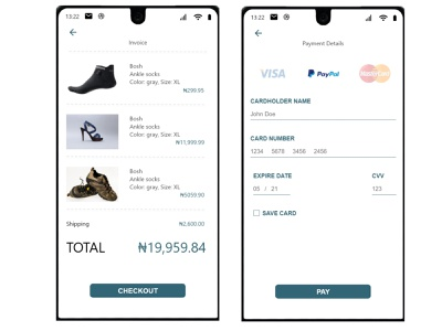 Credit card checkout ui ux minimal flat design dailyuichallenge 002 dailyui daily