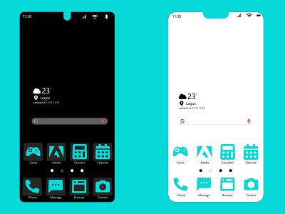 App icons 005 flat ui ux minimal dailyui