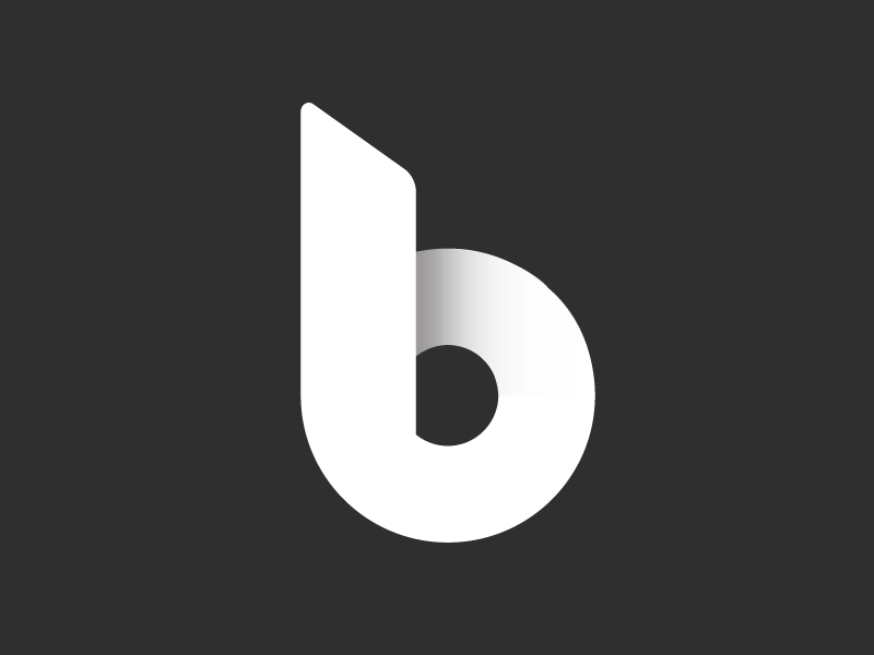 B Logo By Brandon Mowat Dribbble Dribbble