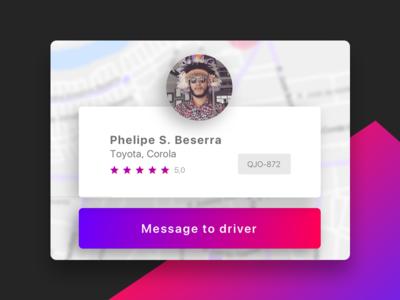 Cab.all | Driver profile