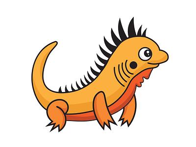 Ziggy the Ziguana illustration programming zig