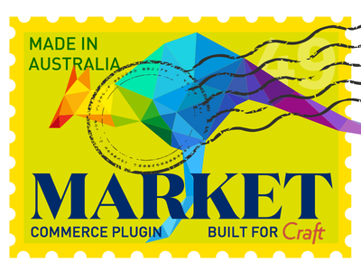 Market Commerce Plugin for Craft CMS stamp