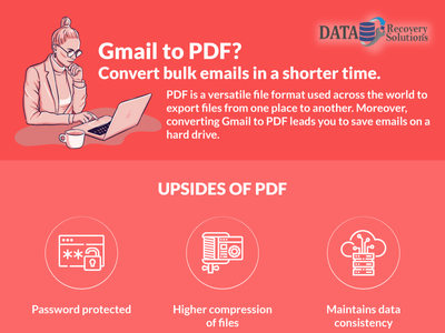 Gmail to PDF? Convert bulk emails in a shorter time. pdf gmail logo branding converter best