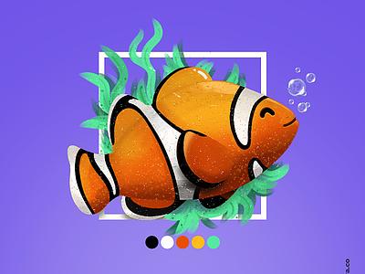 clownfish Illustration clownfish illustration