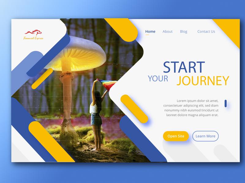 123 logo website vector ux ui illustration